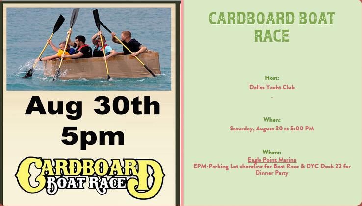 2014 August Cardboaard Boat Race