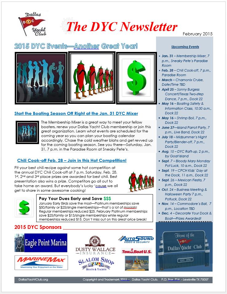 DYC Newsletter 2-15