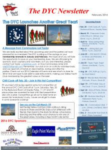 February 2016 DYC Newsletter