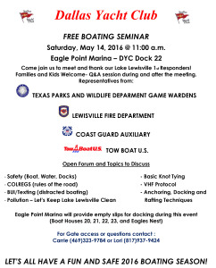 May Boating Safety 2016