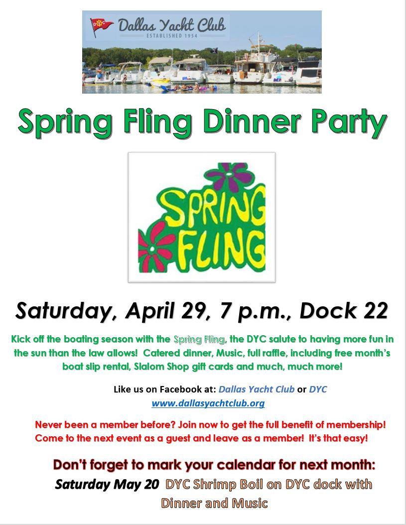 April 2017 Spring Fling Dinner Party