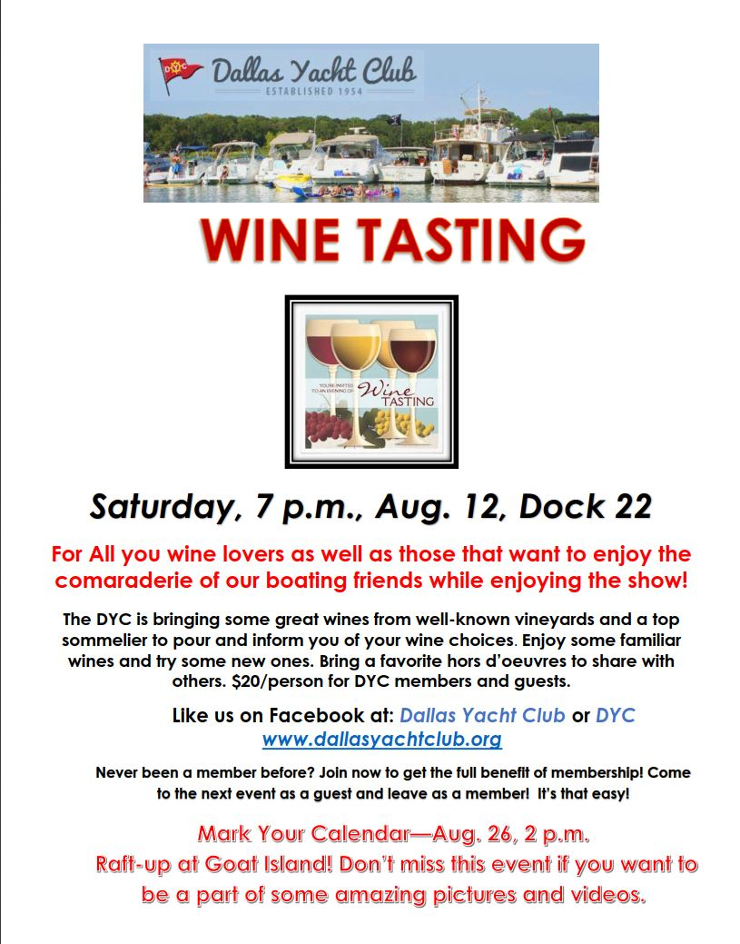 DYC August 2017WINE TASTING flyer